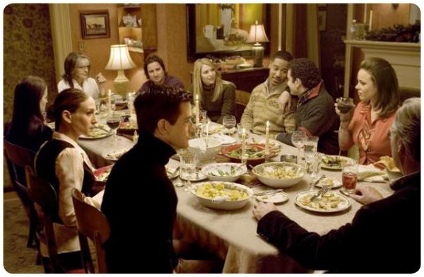 The Family Stone: la comida navideña y la familia 1