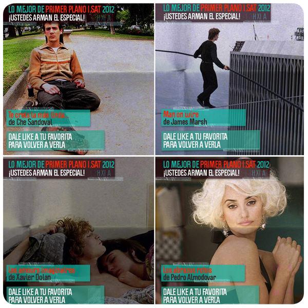 Vota y podrás ver tu película favorita del 2012 en I-Sat 1