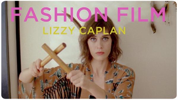 Fashion Film con Lizzy Caplan: una burla bien hecha 1