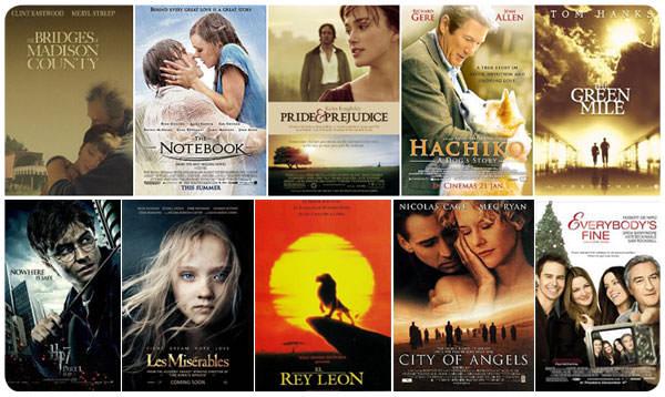 10 películas para sufrir
