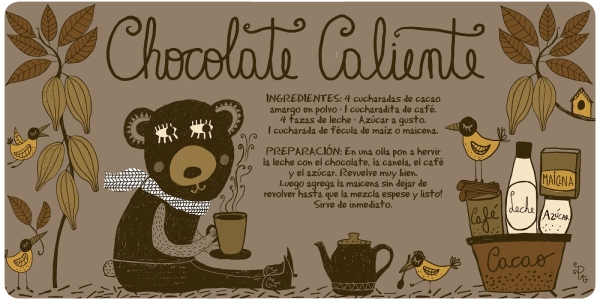 chocolate caliente pati aguilera