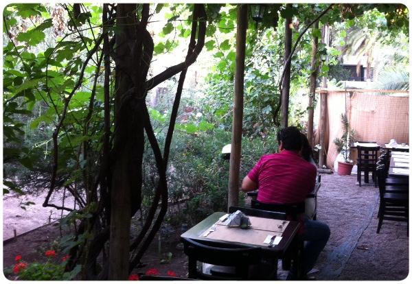 La terraza de la finestra ristorante zancada lo que conversas con amigas - La finestra ristorante ...