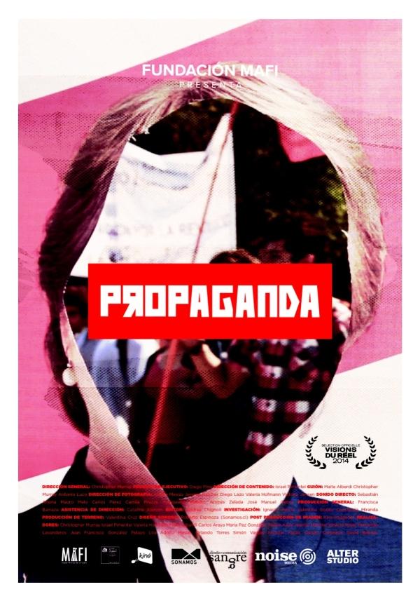 afiche propaganda