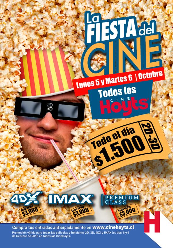 Fiesta del cine en Cinehoyts