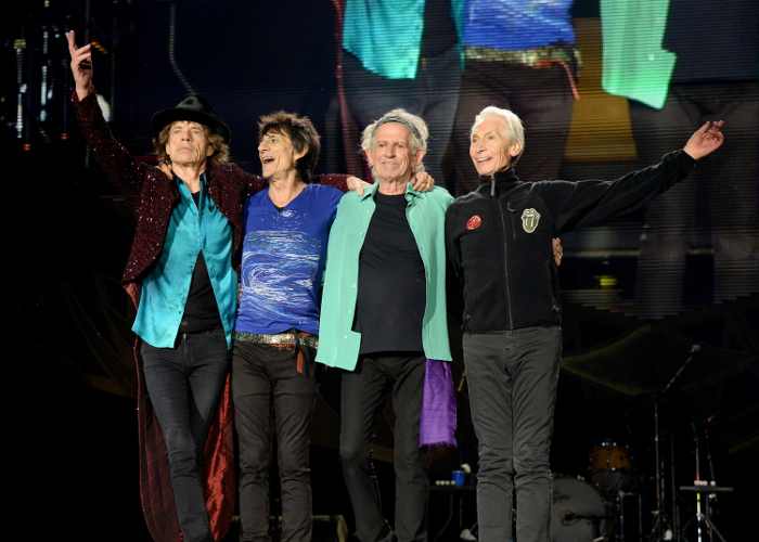 (Exclusive Coverage) Musician ____ of The Rolling Stones performs onstage during the kick off concert of their 15-city North American stadium, ZIP CODE tour, in San Diego at Petco Park on May 24, 2015 in San Diego, California.