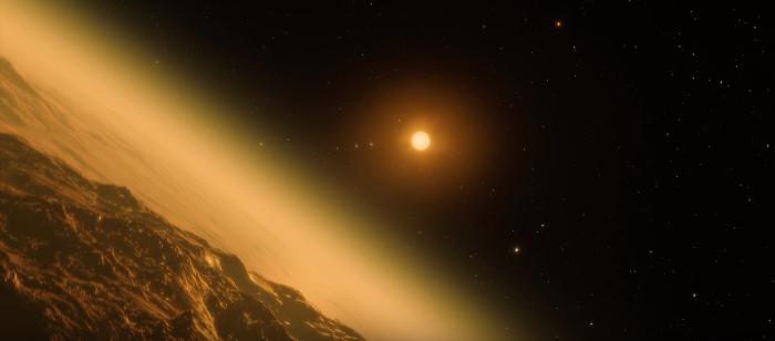 la Nasa descubrió 7 planetas