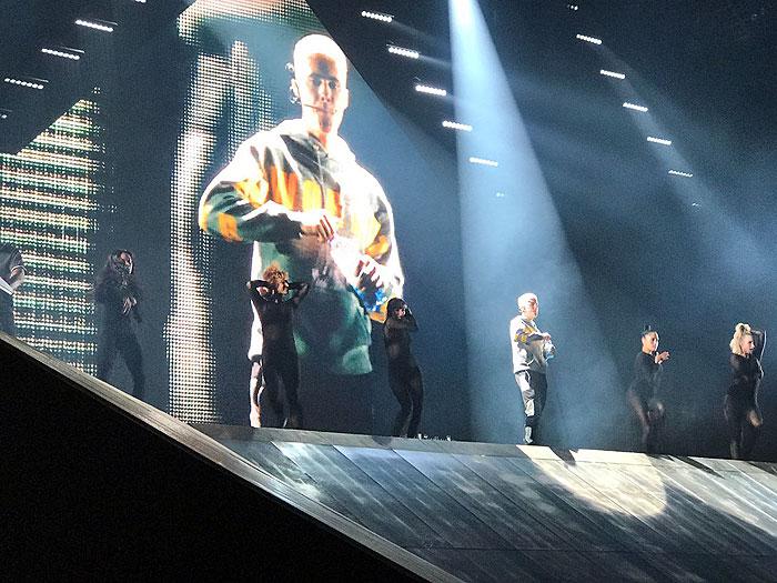 Justin Bieber en el Nacional: Que el público haga lo suyo