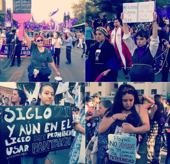 las mujeres marchamos