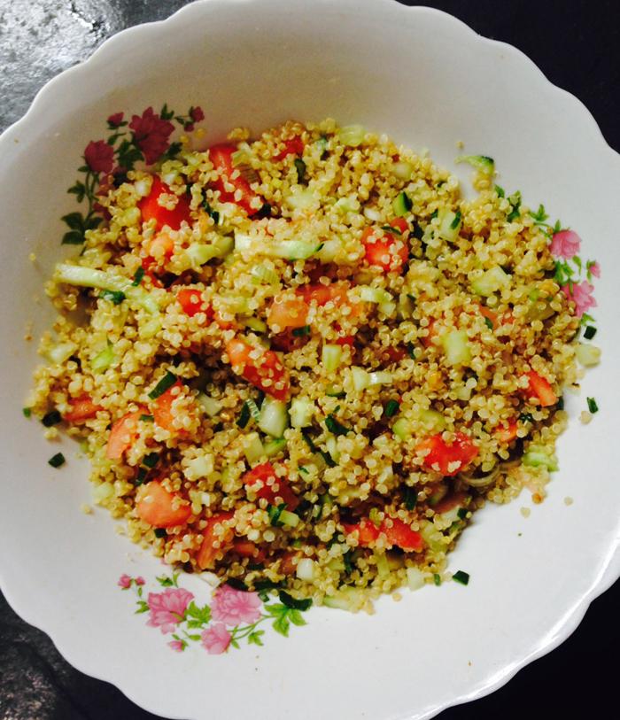 Receta fácil y rica: tabulé de quinoa 1
