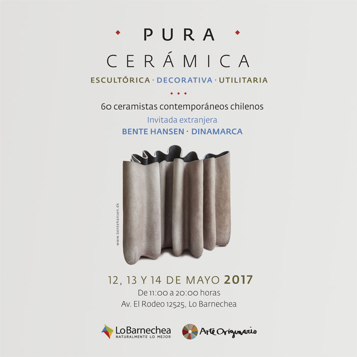 Pura Cerámica 2017: muestra de cerámica decorativa y utilitaria 2