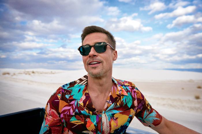 Brad Pitt en GQ