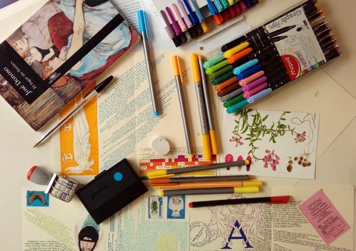Ariel Richards y la exposición de su diario de lectura