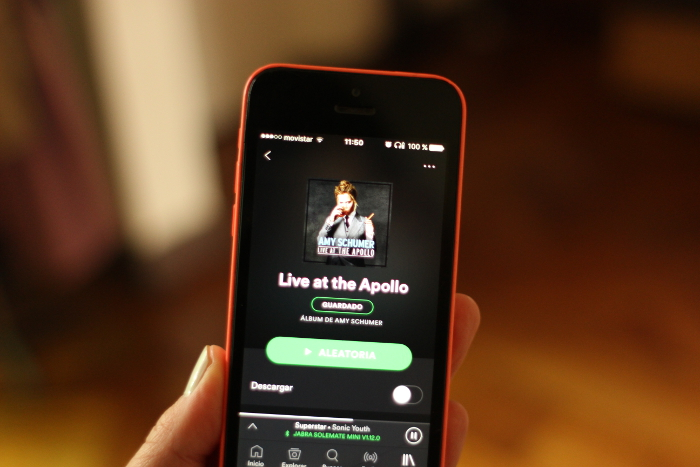 stand-up en Spotify