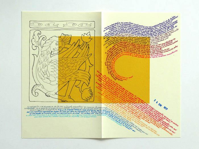 Ariel Richards y la exposición de su diario de lectura 1
