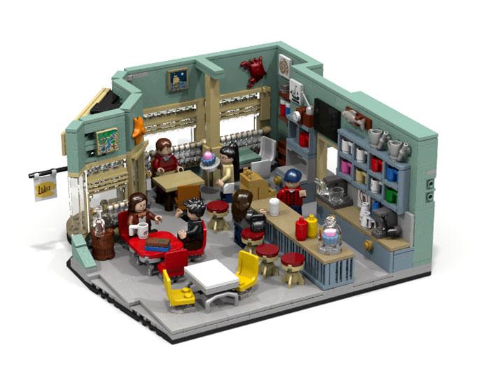 ¿Te comprarías un set LEGO de Gilmore Girls?