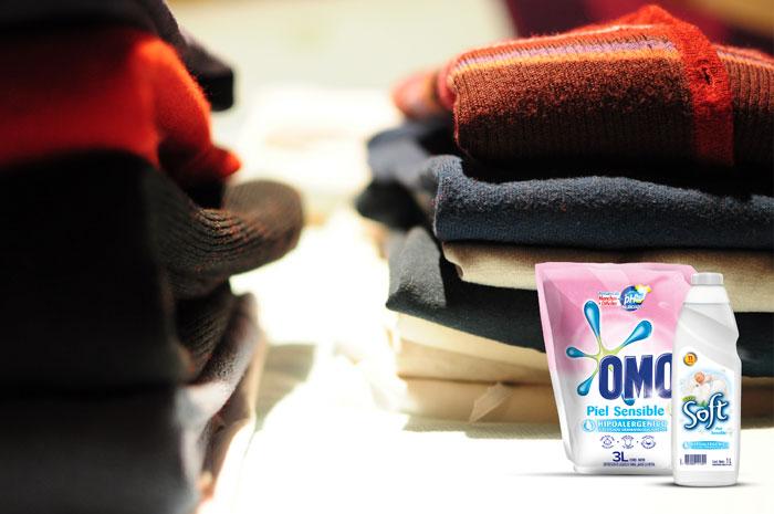 Cuida tu ropa y tu piel con Omo piel sensible