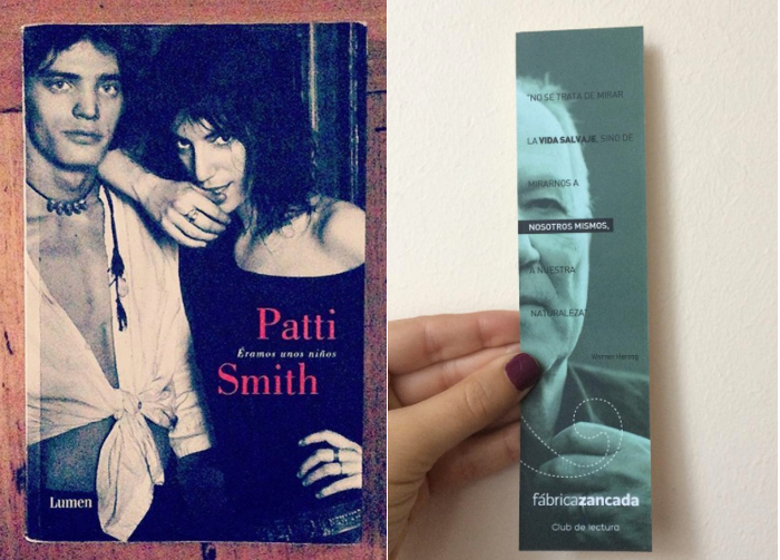 Patti Smith y Werner Herzog