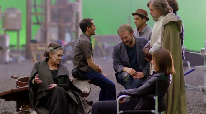 El backstage de la sesión de fotos de Star Wars en Vanity Fair
