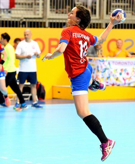 Entrevista a Inga Feuchtmann, jugadora chilena de balonmano 2