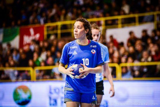Entrevista a Inga Feuchtmann, jugadora chilena de balonmano 1