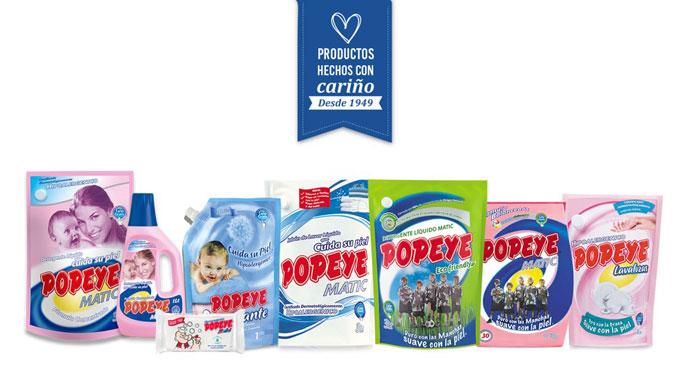 El clásico jabón Popeye y sus variedades