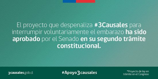 Aprobado en el Senado el aborto en 3 causales 1