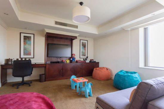 La exquisita experiencia del family room de Santiago Marriott Hotel 1