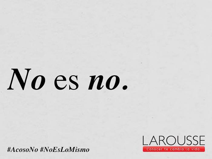Larousse y su campaña contra el acoso ???? 2