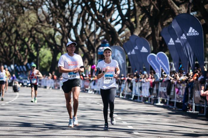 La emocionante experiencia de correr el maratón de Buenos Aires 1