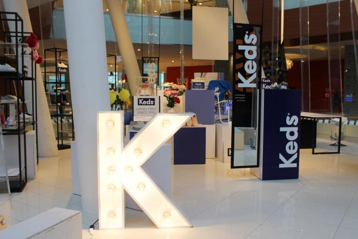 Pop Up Store Keds