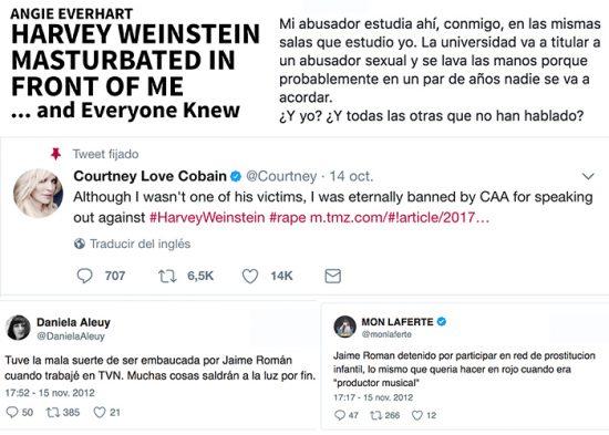 Más allá de Harvey Weinstein: el acoso, el silencio y la impunidad 1