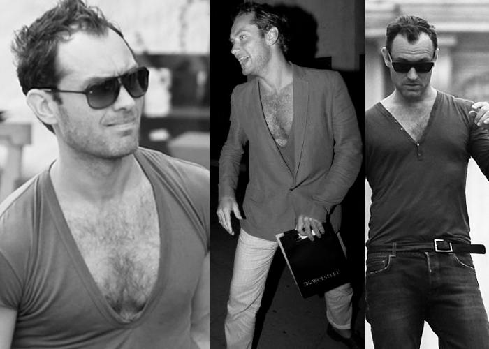 Modas que odio: Polera escotada masculina 1