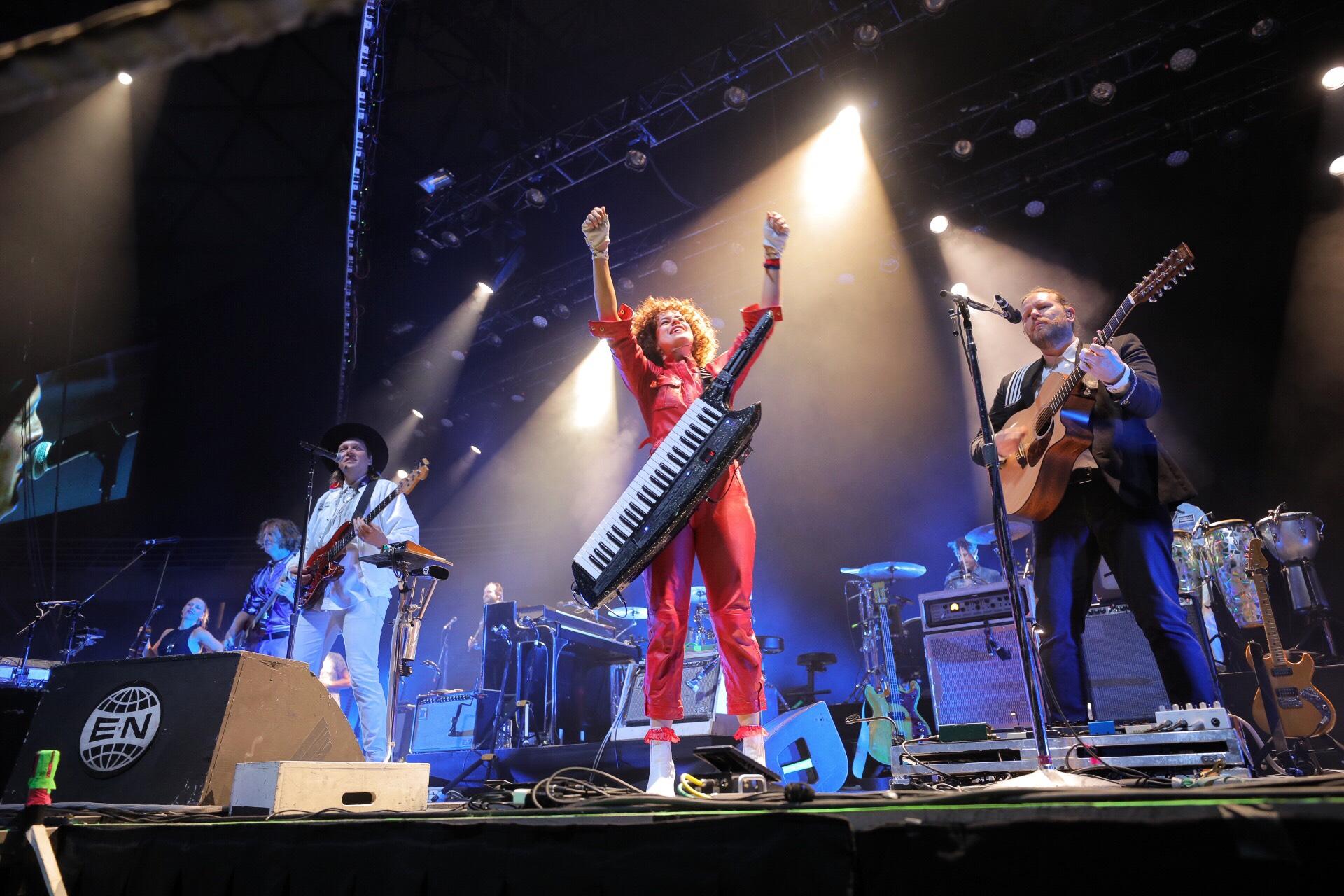 Arcade Fire en Chile