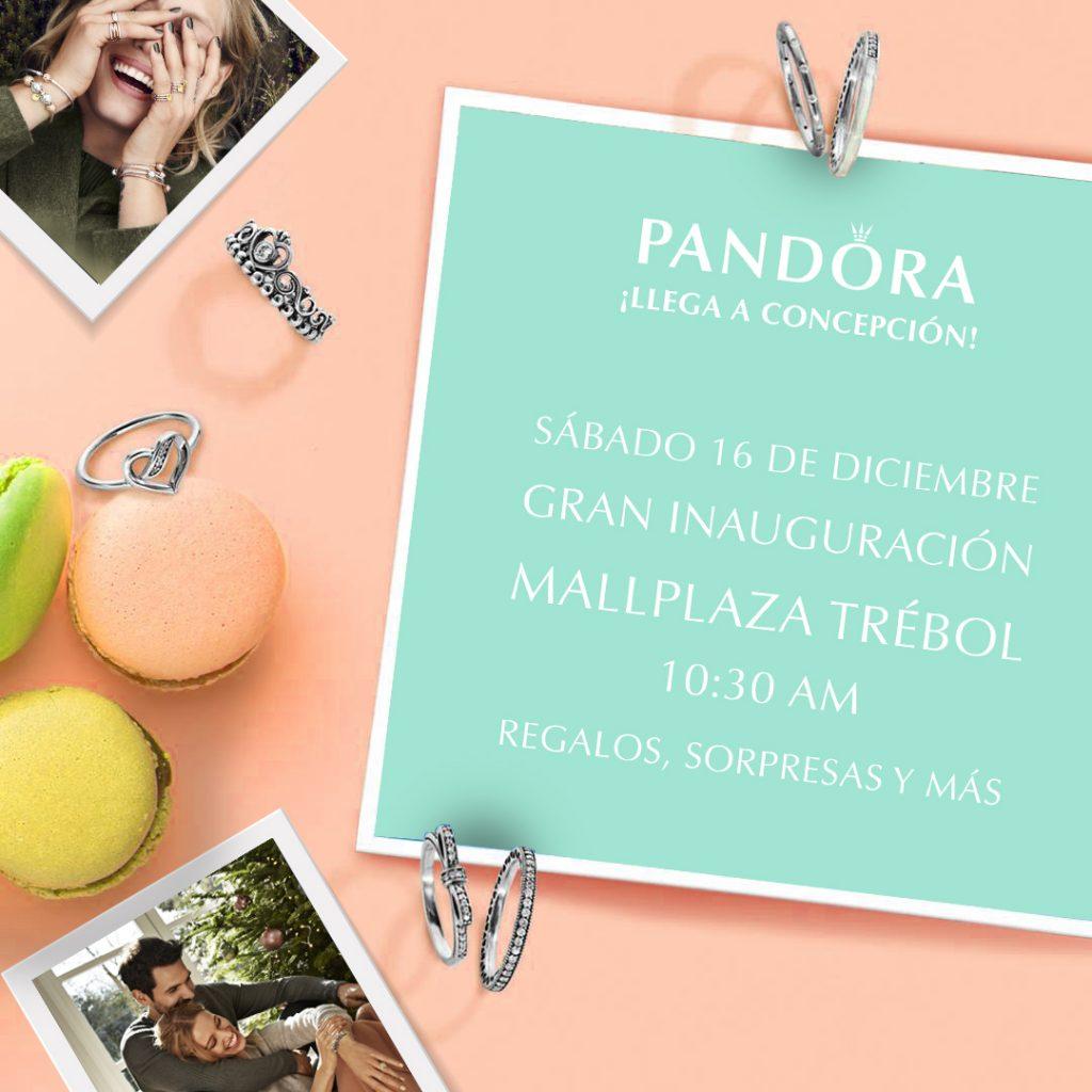 Con sorpresas y regalos se inaugura PANDORA Concepción 1