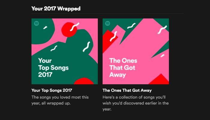 2017 Wrapped: tu año musical según Spotify 2