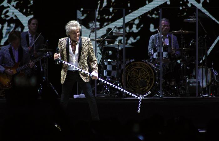 La alegría del concierto de Rod Stewart a Chile 4