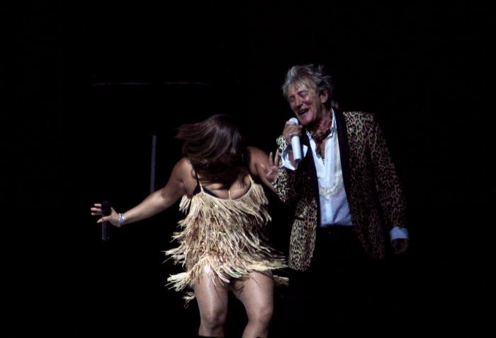 La alegría del concierto de Rod Stewart a Chile 3