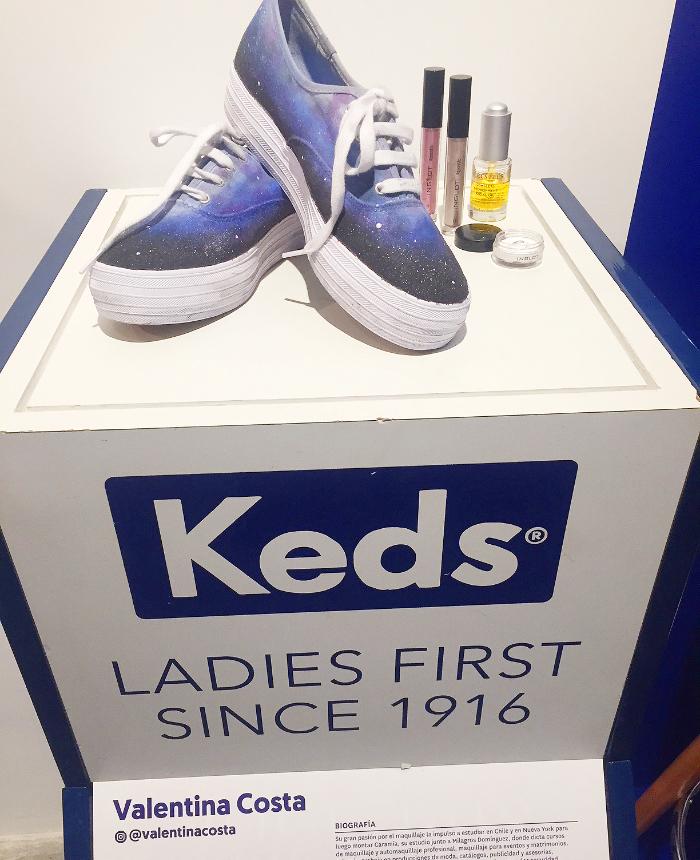 KEDS y ZANCADA celebran el mes de la mujer con el diseño de Valentina Costa 1