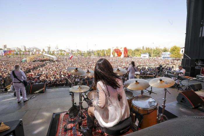 La elegancia de David Byrne, la genialidad de LCD Soundsystem y la emoción de Pearl Jam en la primera jornada de Lollapalooza Chile 2018 2