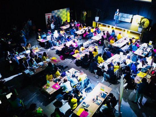 Laboratoria realizó la hackathon de mujeres más grande de Chile 1