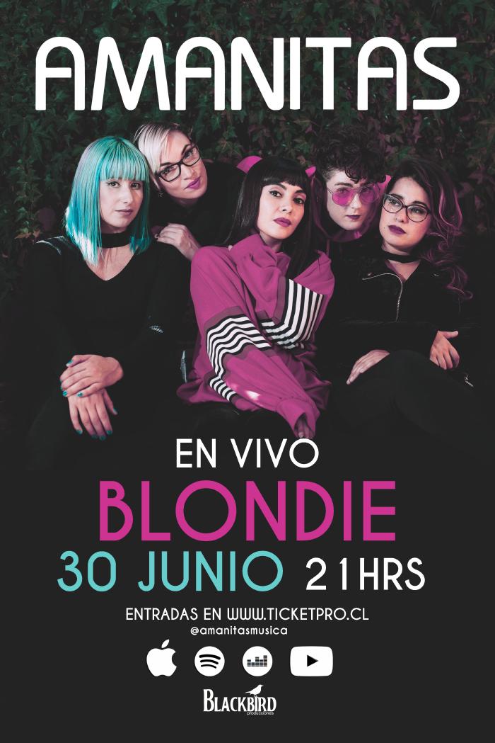Amanitas celebra sus 5 años de carrera en la Blondie 2
