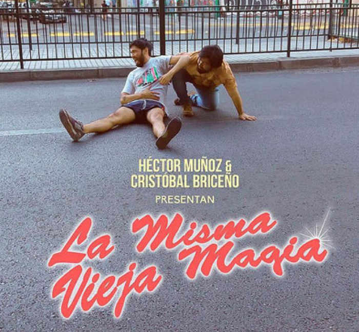 Cristóbal Briceño y Héctor Muñoz con La Misma Vieja Magia en Valparaíso 1