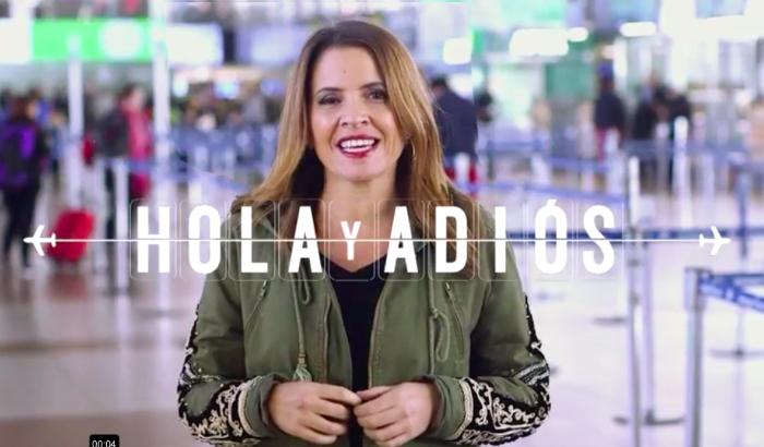 Comienza la 2º temporada de Hola y Adiós, el programa de Montserrat Álvarez en el aeropuerto 1