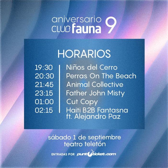 Se viene el aniversario de Club Fauna (¡y tenemos concurso!) 2