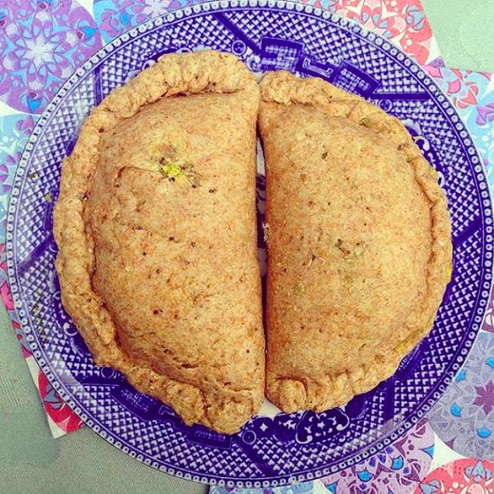 Receta: empanadas integrales con pino vegetal 1
