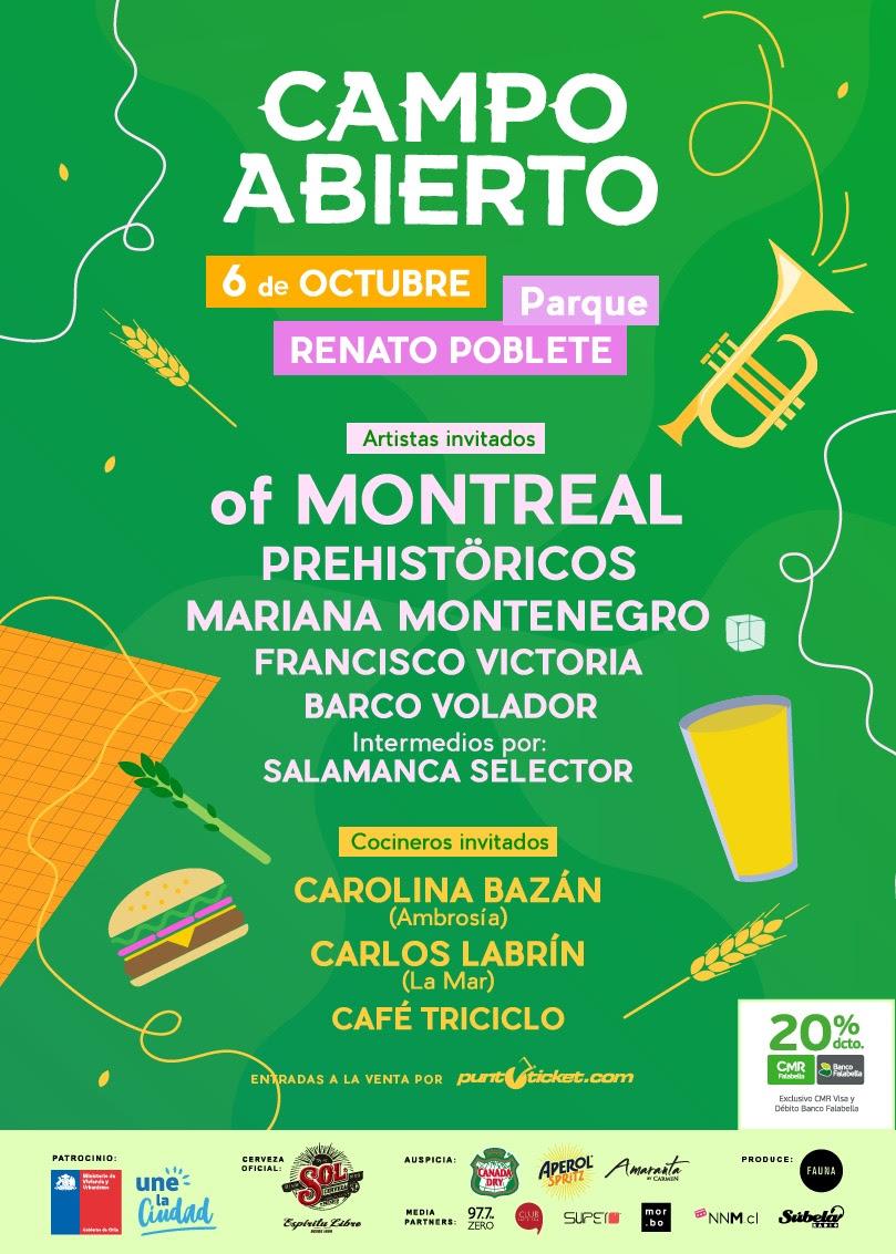 Campo Abierto: parque, música y primavera 1