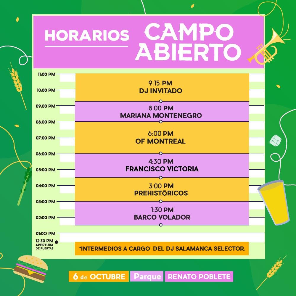 Campo Abierto: parque, música y primavera 2