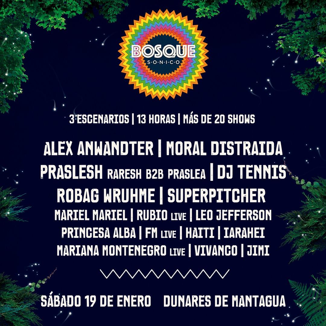 Bosque Sónico trae 13 horas música y concurso para conseguir entradas 1