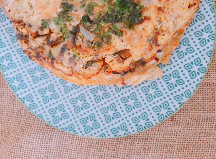 Receta: Omelette de champiñones 1