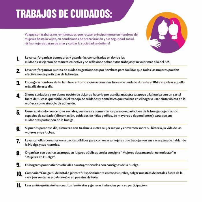 Todo sobre #LaHuelgaFeministaVa de este 8 de marzo 2